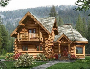 to order a wooden house - Karpaty-Dom